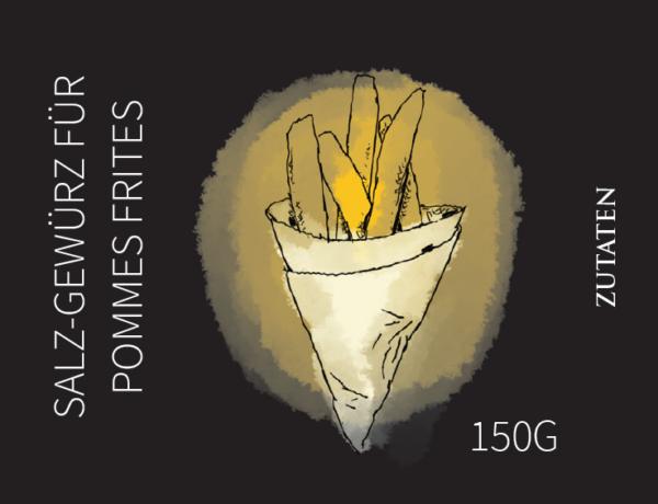 Salz-Gewürz für Pommes Frites