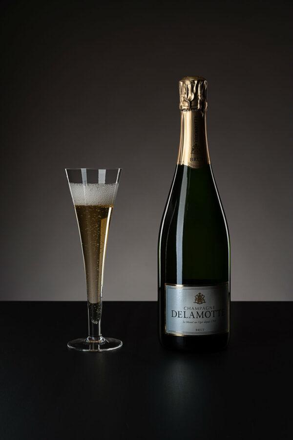 Champagner Delamotte brut (Gratis beim Kauf von 6 Zalto Gläsern)